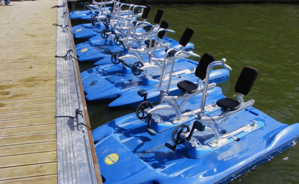 About our water bikes