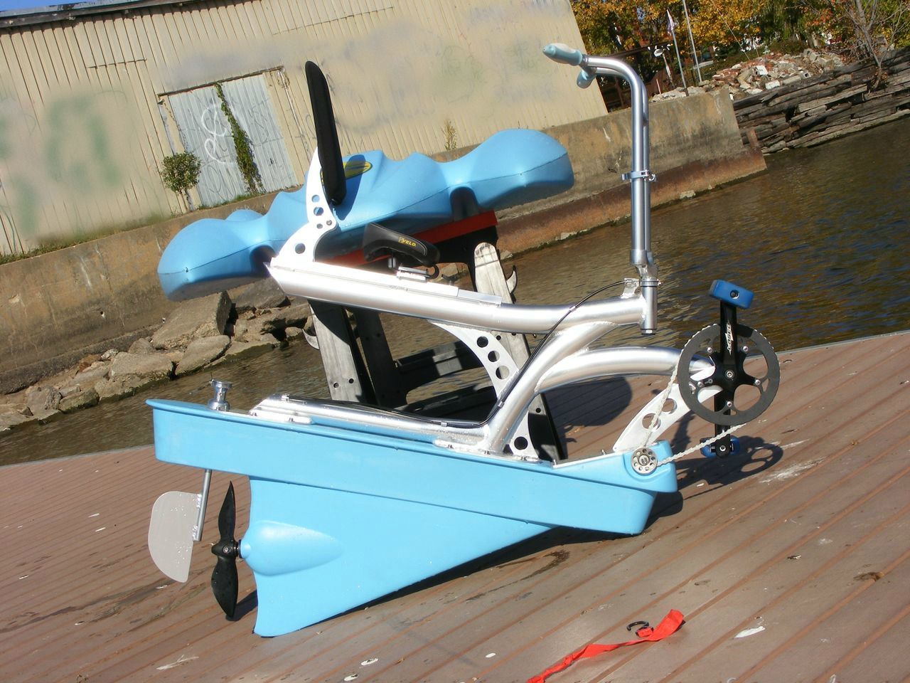 1 person water bikes water bicycle hydrobike for fishing for Fishing pedal boat