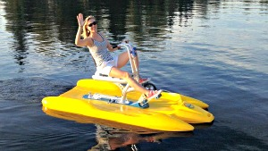 Water Bikes For Water Biking On Lakes Rivers Seas And Ponds